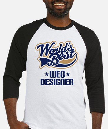 Web Designer (Worlds Best) Baseball Jersey