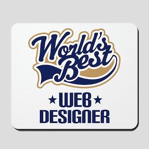 Web Designer (Worlds Best) Mousepad