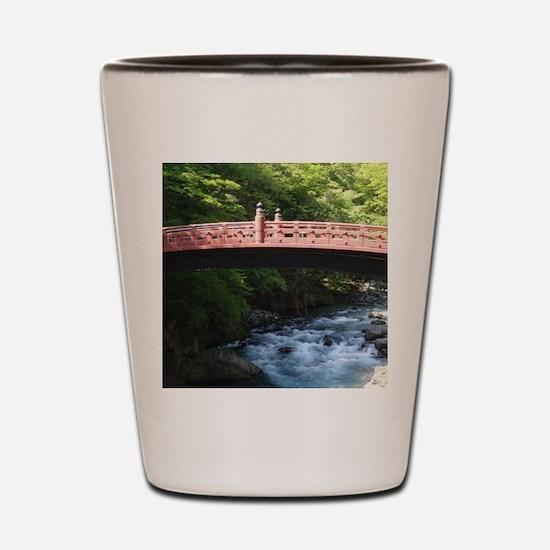 Shin-kyo Bridge Shot Glass