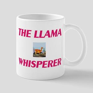The Llama Whisperer Mugs