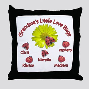 EXAMPLE:Grandma's Little Love Throw Pillow