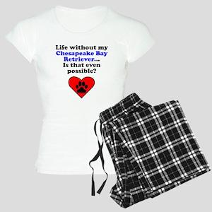 Life Without My Chesapeake Bay Retriever Pajamas