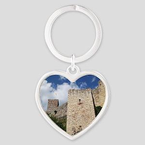 Burg Roetteln Heart Keychain