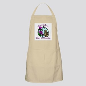 Martial Arts Tiger in Disguisee Apron