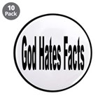 God Hates Facts Funny Pun 3.5