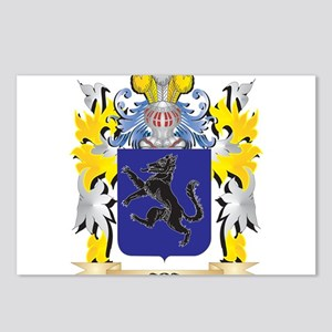 Aba Coat of Arms - Family Postcards (Package of 8)