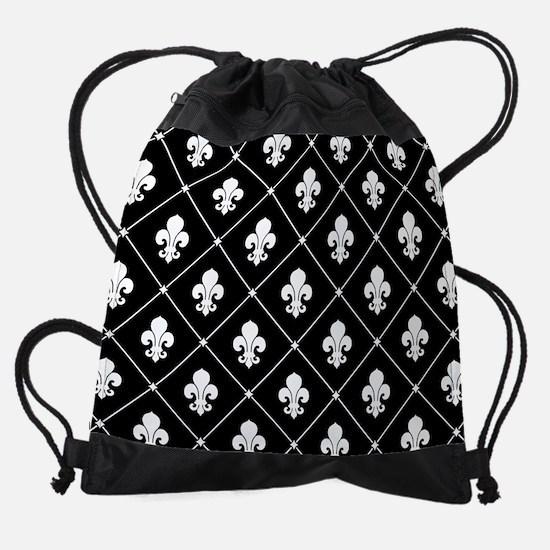 fleur-de-lis-pattern_13-5x18.png Drawstring Bag