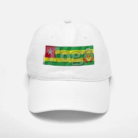 Silky Flag of Togo Baseball Baseball Cap