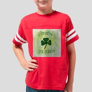 panatha forever light green b Youth Football Shirt