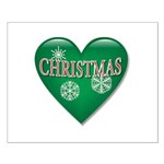 I Heart Love Christmas Small Poster