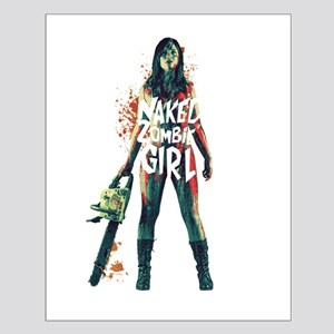 Naked Zombie Girl Posters