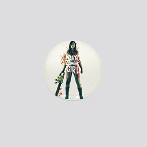 Naked Zombie Girl Mini Button