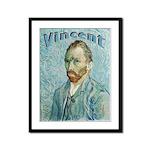 Vincent Framed Panel Print