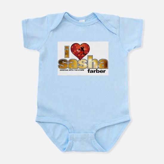 I Heart Sasha Farber Infant Bodysuit