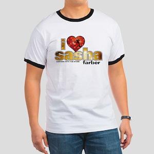I Heart Sasha Farber Ringer T-Shirt
