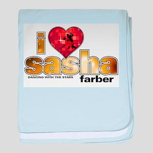 I Heart Sasha Farber Infant Blanket