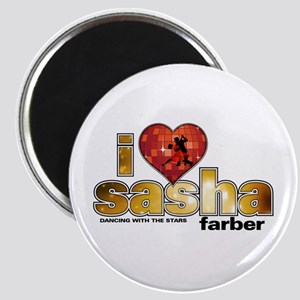 I Heart Sasha Farber Magnet