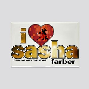 I Heart Sasha Farber Rectangle Magnet