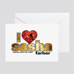 I Heart Sasha Farber Greeting Card