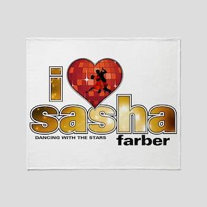 I Heart Sasha Farber Stadium Blanket