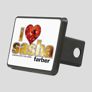 I Heart Sasha Farber Rectangular Hitch Cover