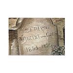 Vincent Rectangle Magnet (10 pack)