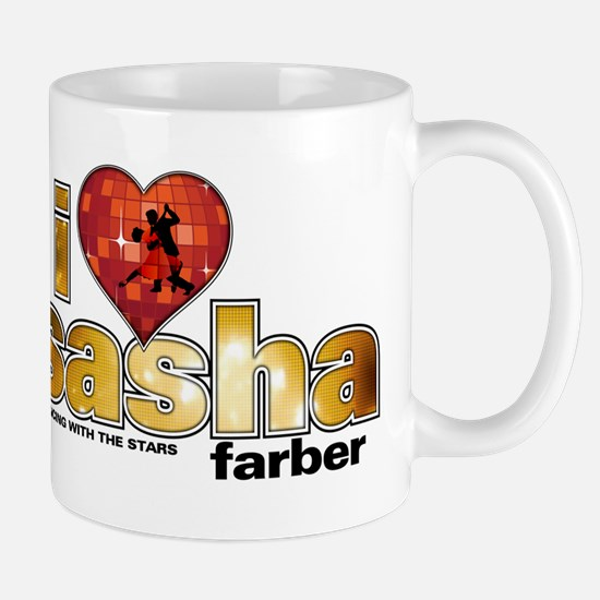 I Heart Sasha Farber Mug