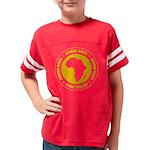 afroots_dark Youth Football Shirt