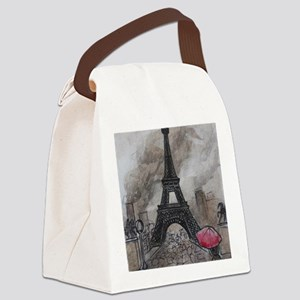 Industrial Paris Canvas Lunch Bag