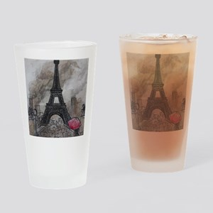 Industrial Paris Drinking Glass