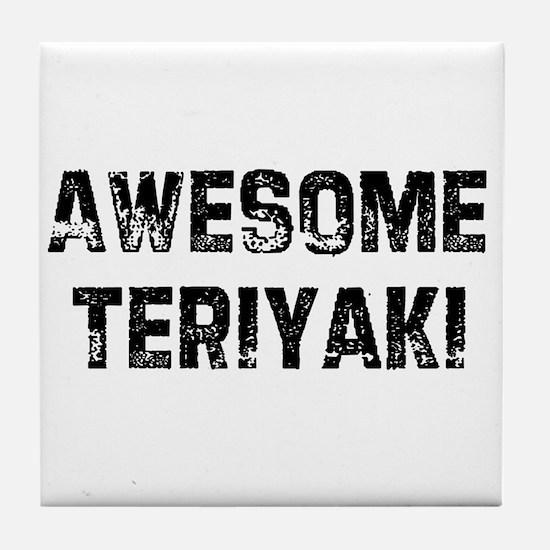Awesome Teriyaki Tile Coaster