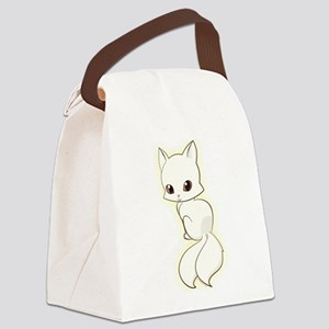 Obackeneko Canvas Lunch Bag