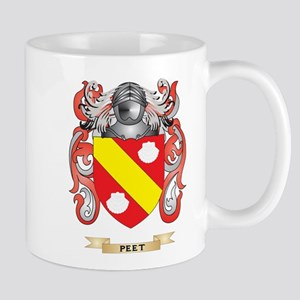 Peet Coat of Arms (Family Crest) Mugs