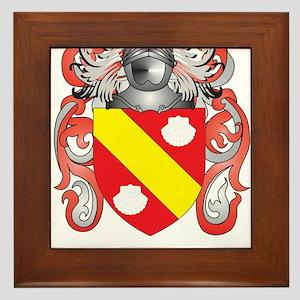 Peet Coat of Arms (Family Crest) Framed Tile