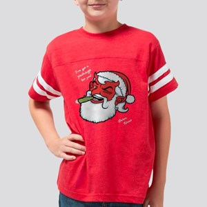 satan-claus-DKT Youth Football Shirt
