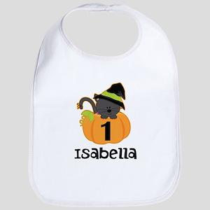 Personalized Halloween 1st Birthday Bib