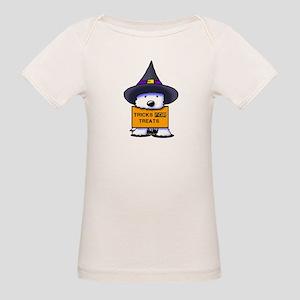 TFT Westie Witch Organic Baby T-Shirt