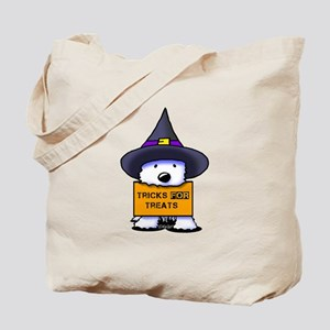TFT Westie Witch Tote Bag