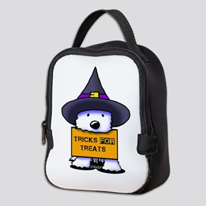 TFT Westie Witch Neoprene Lunch Bag