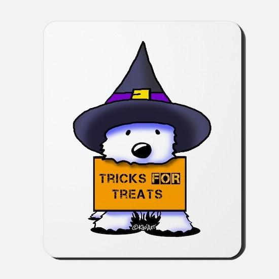 TFT Westie Witch Mousepad