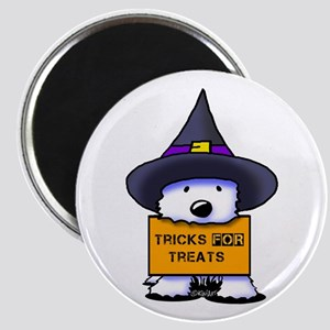 TFT Westie Witch Magnet