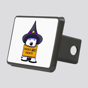 TFT Westie Witch Rectangular Hitch Cover