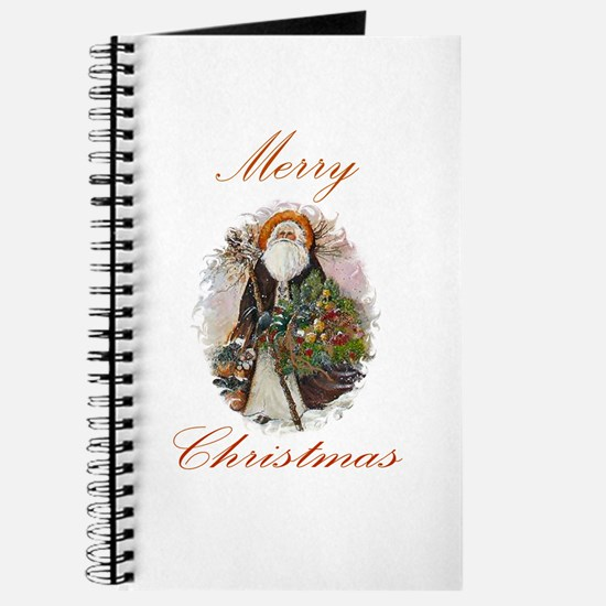 Old-fashioned Santa Christmas Journal