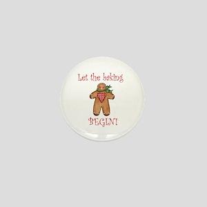Let the Christmas baking begi Mini Button