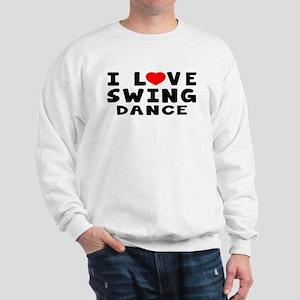 I Love Swing Sweatshirt