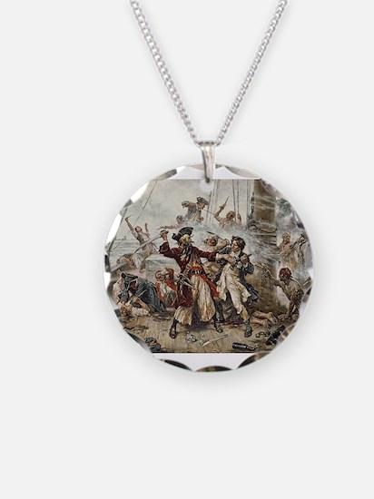 Blackbeard Pirate Necklace