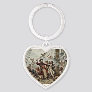 Blackbeard Pirate Keychains