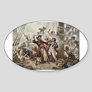 Blackbeard Pirate Sticker