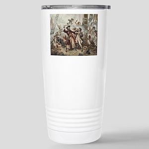 Blackbeard Pirate Travel Mug