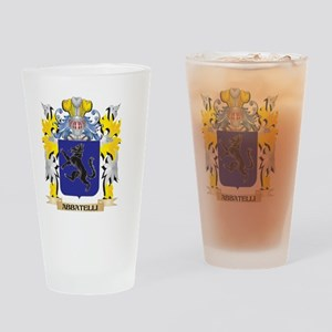 Abbatelli Coat of Arms - Family Cre Drinking Glass